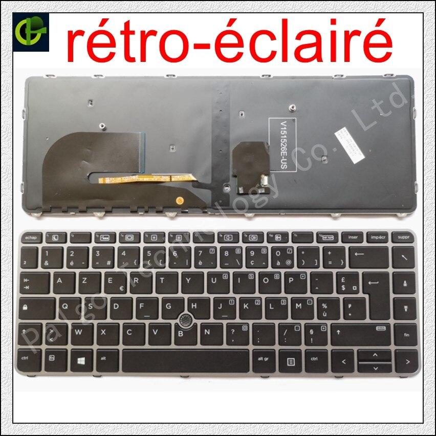 klávesnice dns mb50ia1 - New French Azerty Backlit keyboard for HP EliteBook 840 G3 745 G3 745 G4 840 G4 848 G4 836308-051 821177-051 NSK-CY2BV FR