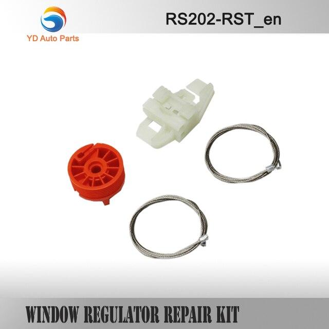 WINDOW REGULATOR COMPLETE CLIP SET  FOR RENAULT SCENIC II 2 WINDOW REGULATOR REPAIR KIT FRONT-RIGHT