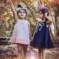 Лидирующий Высокое КАЧЕСТВО Девушка Dresse Принцесса legant Красивое Платье Для Малыша Девушка Партии и Свадьбы Детские Платья Лето одежда