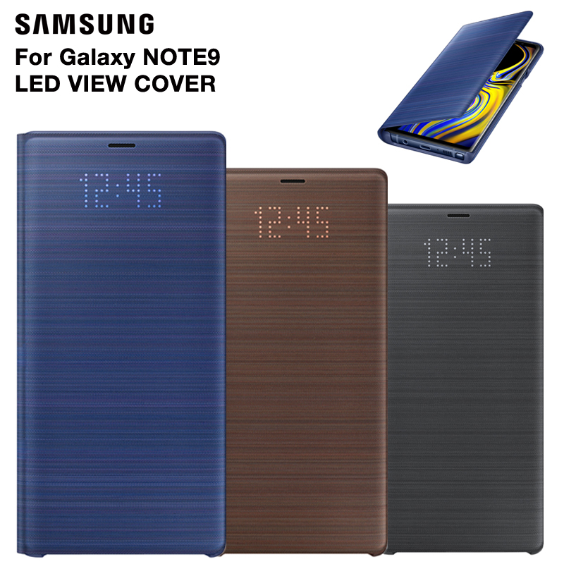 Samsung Original LED Cover Protection Cover Phone Case For Samsung Galaxy Note9 Note 9 SM-N9600 Sleep Function Card PocketSamsung Original LED Cover Protection Cover Phone Case For Samsung Galaxy Note9 Note 9 SM-N9600 Sleep Function Card Pocket