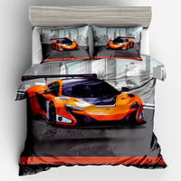 Lamborghini Sports Car Pinted 3D Luxury Duvet Cover Set Bedding Twin Full Queen King Size 1