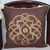 Latest Geometry Pattern Sofa Cushion Cotton Linen Fashion Simple Home Office Seat Chair Backrest Lumbar Pillow