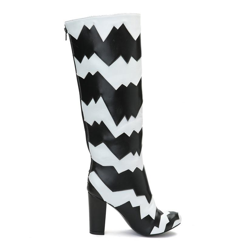 4d287608 Microfibra Otoño Marca Rodilla Mujeres Diseño Cuero De La Tamaño Vestido  Fiesta Invierno Botas Hasta Vankaring Zapatos ...