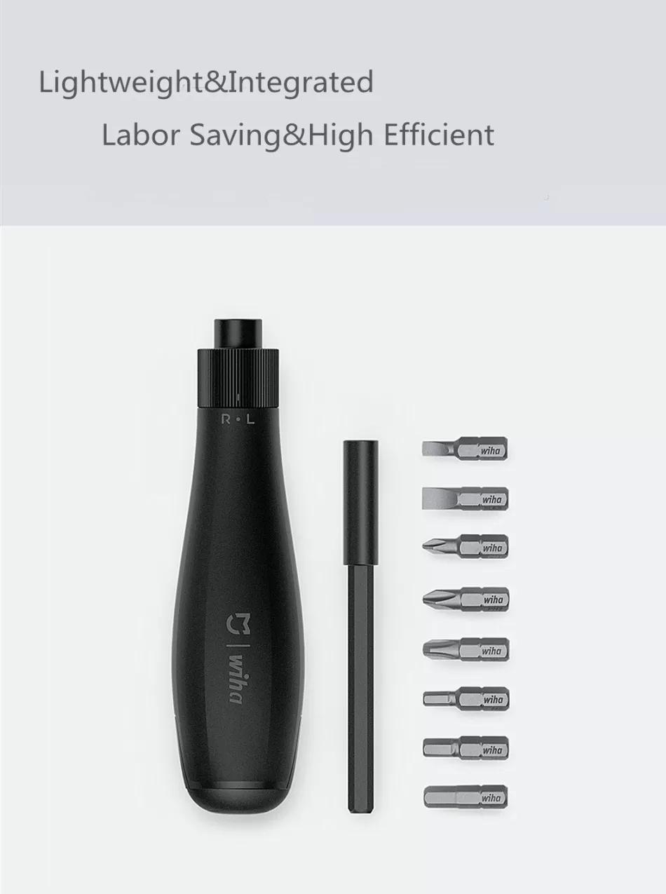 Xiaomi mijia Screwdriver Kit 8 in 1 Precision Magnetic Bits with Extension Rod Alluminum Box DIY Screw Driver Set Repair Tools (3)