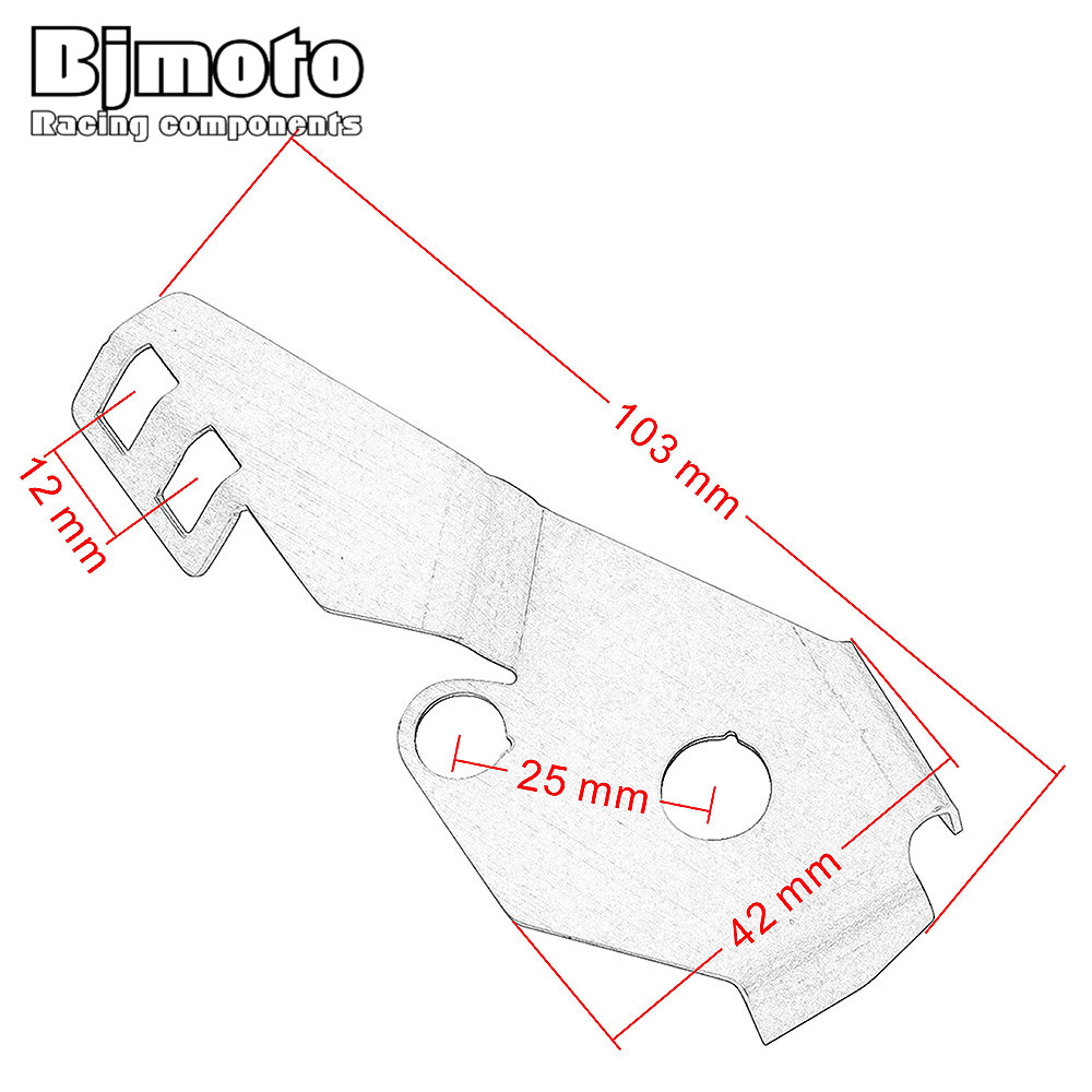 Bjmoto for bmw r1200gs lc r1200gs adv 2014 2017 sidestand guard side stand switch protector cover in covers ornamental mouldings from automobiles