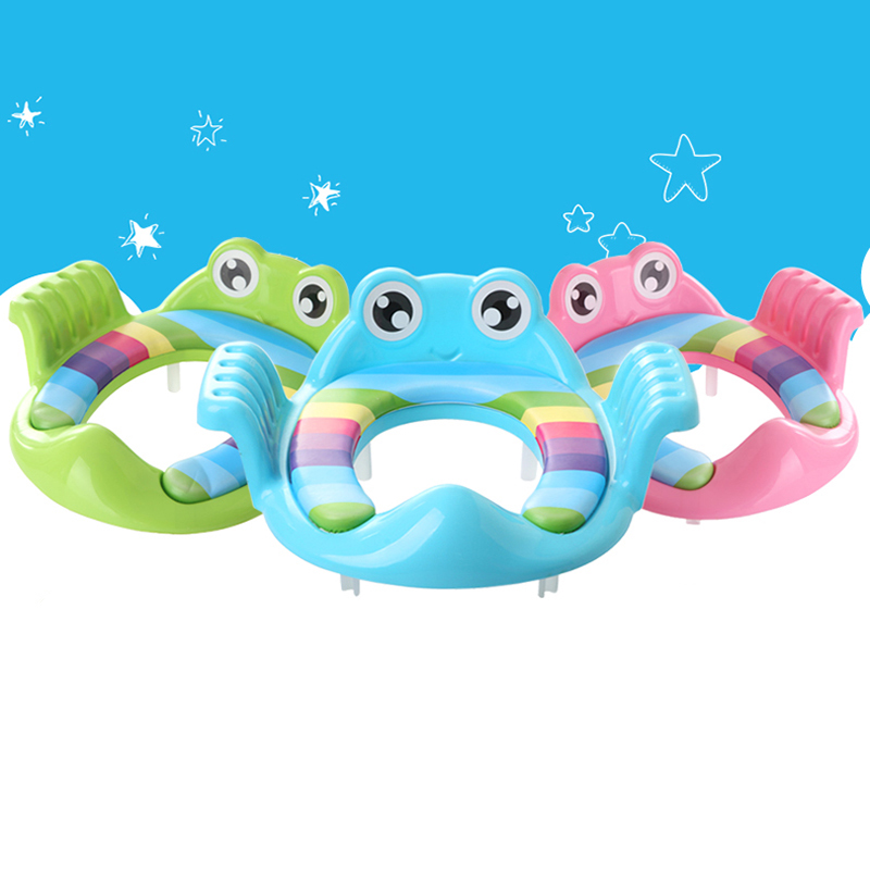Children Safety Baby Protection Toilet Seat New Style Soft Kids Toilet Portable Potty Seat