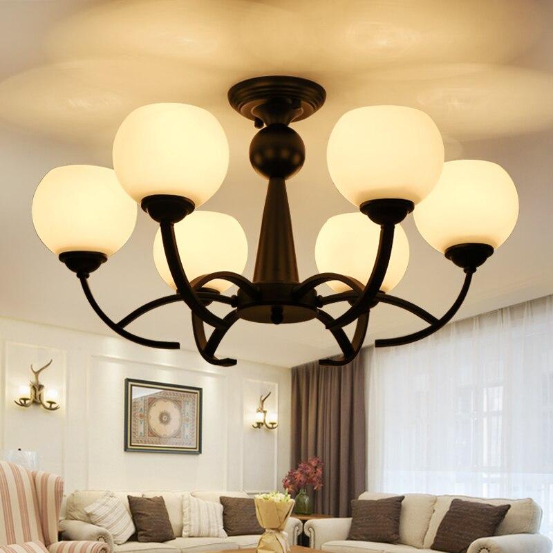220 V LED Lampadario Per Soggiorno Moderno Bianco Lustre Illuminazione Montato220 V LED Lampadario Per Soggiorno Moderno Bianco Lustre Illuminazione Montato