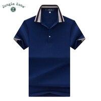 JUNGLE ZONE Marke Geschäfts T-shirt männer t-shirt 2017 Top Qualität Sommer Kurzarm T-shirt männer einfarbig tops 7189
