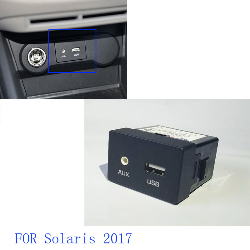 Oem Genuine Usb Reader Ipod Aux Port Adapter For Hyundai: OEM Genuine 96120F9000 JACK ASSY AUX & USB For Hyundai