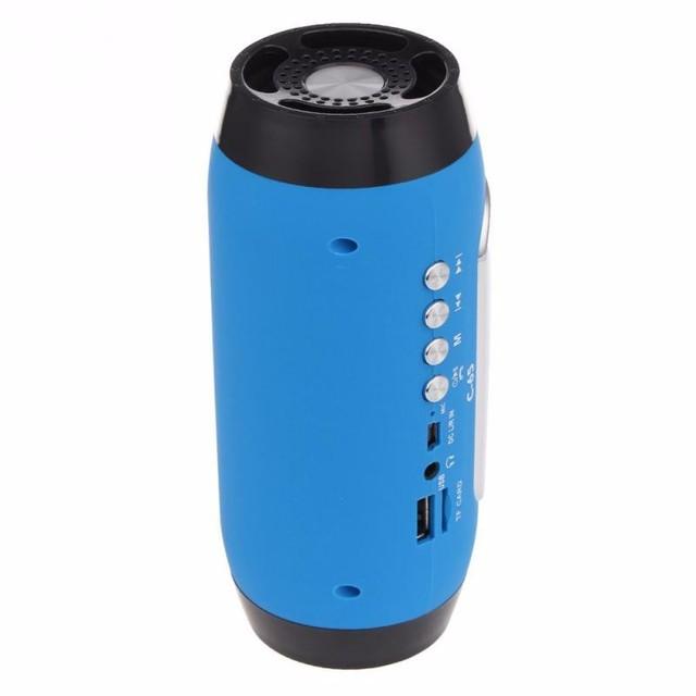 FM Radio Wireless Bluetooth Speaker with Microphone