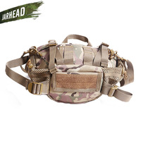 Outdoor Portable Camping Tactical Waist Bag Multifunctional Camouflage Jungle Adventure Waterproof Waist Bag