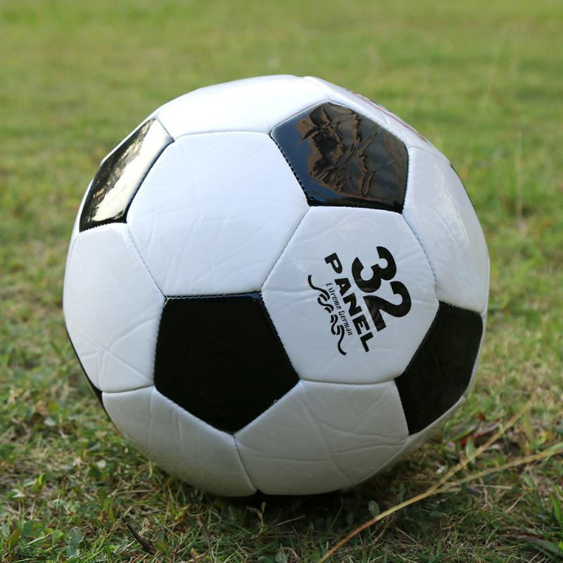 Ballon de football NO 5 Doux Standard Ballon De Football PU Ballon De Football Formation Boules Taille Officielle De Football