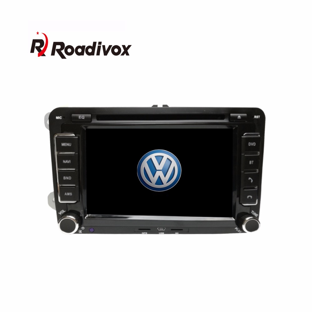 android 6 0 car dvd player for vw volkswagen passat polo. Black Bedroom Furniture Sets. Home Design Ideas