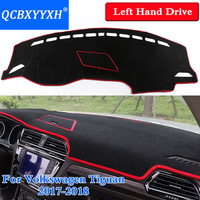 Car Styling Dashboard Protective Mat Shade Cushion Insulation Pad Interior Carpet For Volkswagen Tiguan 2017 2018