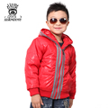 XIAOYOUYU Size 90-130 cm Little Boy Soft & Comfortable Outerwear Fashion Kids Coat Windproof Children Outwear