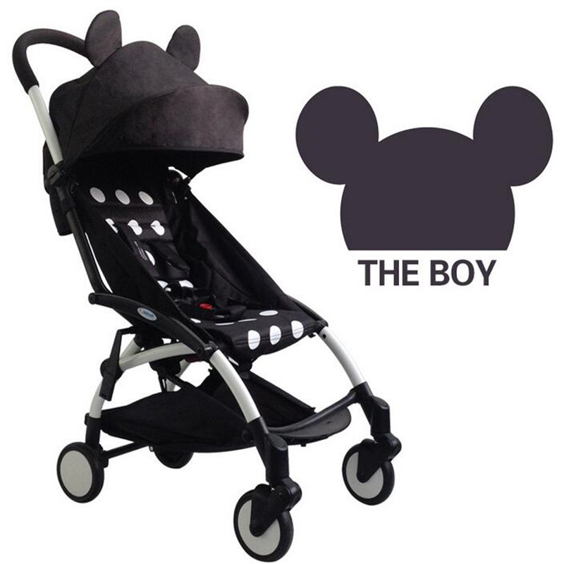 Portable multifunctional folding baby car leisure travel for Car carriage