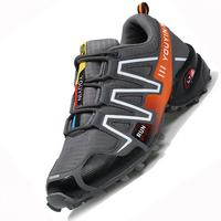 Big Size Waterproof Design Durable Men Casual Shoes Spring Autumn Climbing Shockproof Absorption Male Absorption Driving