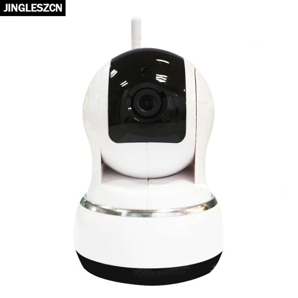 JINGLESZCN IP Camera Wifi Network Wireless Serveillance Camera Baby Monitor HD 720P Night Vision P2P Security CCTV Home Camera 720p wifi ip network baby monitor camera miniature wireless camera detectors kids monitors