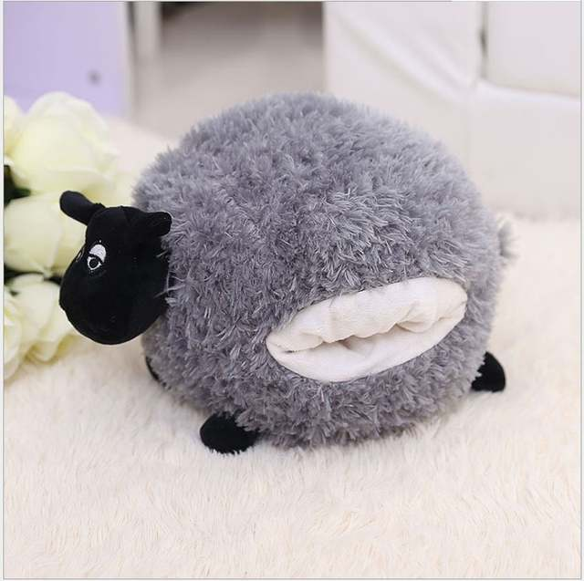 Online Shop 30 40cm Goat Grey White Sheep Stuffed Plush Toy Doll