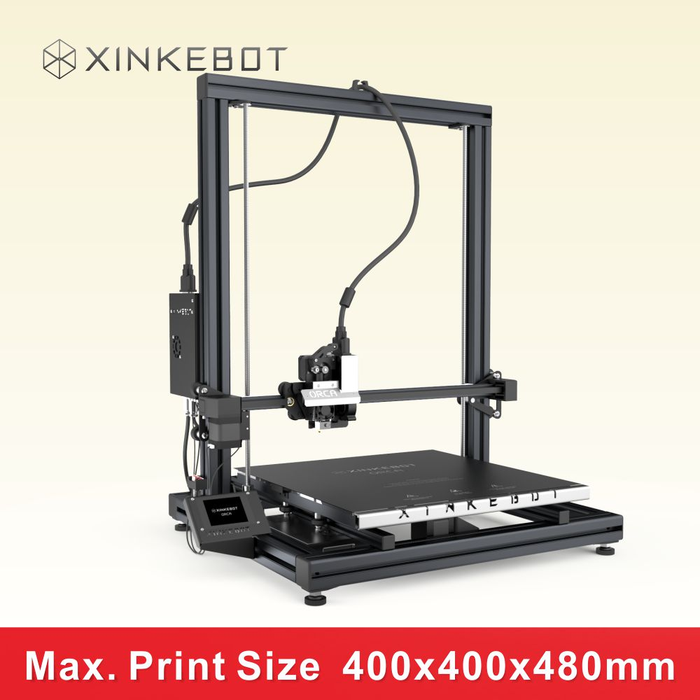2016 New Upgraded Large Build Size 3D Printer 400*400*480mm High Precision 0.05mm Suport Various Function