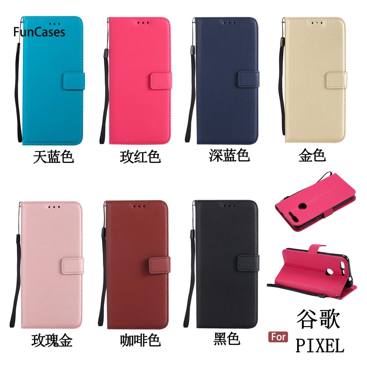 Hot Flip Phone Case sFor Celular Google Pixel Card slot Case Funda Transparent Phone Case For Google Pixel Pho Ne Hoesje Cell ...