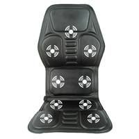 8 IN 1 Home Office Car Vehicle Chair Seat Vehicle Electrical Vibration Massage Back Seat Relief