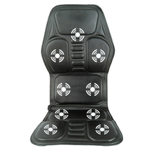 8 IN 1 Home Office Car Vehicle Chair Seat Vehicle Electrical vibration Massage Back Seat relief lumbar back pain support
