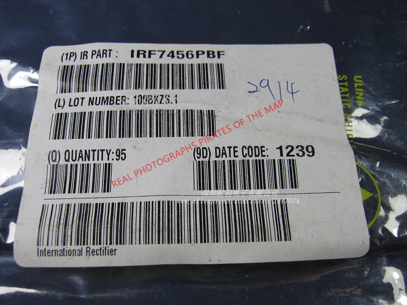10pcs/lot IRF7456TRPBF IRF7456 F7456 SOP8 In Stock