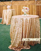 2pcs Big Sale 120''(300cm) Shiny Gold Table Cover Glittery Tablecloth Blingbling Table Cloth for Party