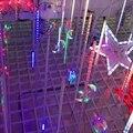 DC12V 10 Tubes/1 ensemble 80 CM 5050 SMD IP67 météores douche pluie Tubes Double face luminaire pluie de météores à LED par noël carré jardin|light ribbon|light tributelight weight electric scooter -