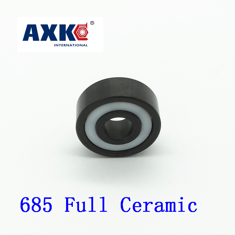 2019 Limited New Axk 685 Full Ceramic Bearing ( 1 Pc ) 5*11*3 Mm Si3n4 Material 685ce All Silicon Nitride 618/5 Ball Bearings2019 Limited New Axk 685 Full Ceramic Bearing ( 1 Pc ) 5*11*3 Mm Si3n4 Material 685ce All Silicon Nitride 618/5 Ball Bearings