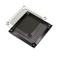 20 PCS 80mm computer fan screen screw, ultrafine aluminum mesh is suitable for computer case fan, USB 8cm fan black/silver