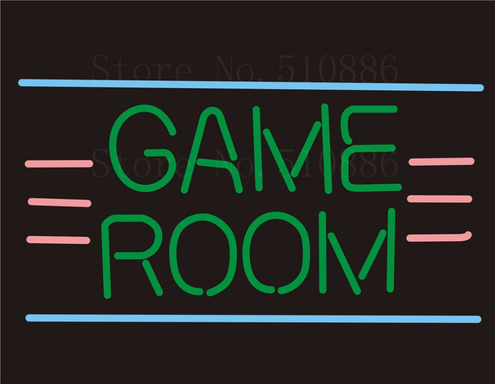 Custom NEON SIGNS board For Game Room restaurant Store REAL GLASS Tube Signage BAR PUB Club Shop Light Sign 17*14 custom signage neon signs pizza beer real glass tube bar pub signboard display decorate store shop light sign 17 14