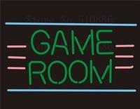 Tùy chỉnh DẤU HIỆU NEON board Cho Game Room nhà hàng Cửa Hàng BẤT GLASS Ống Signage BAR PUB Club Shop Nhẹ Đăng Nhập 17*14