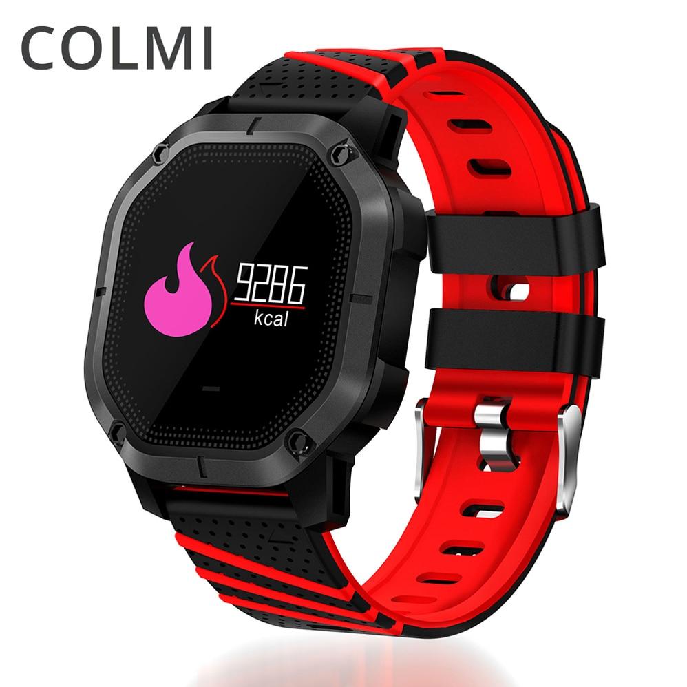 COLMI K5 Esportes Pulseira Inteligente Relógio Bluetooth Heart Rate Monitor de Pressão Arterial Relógio Para IOS Android Telefone IP68 À Prova D' Água