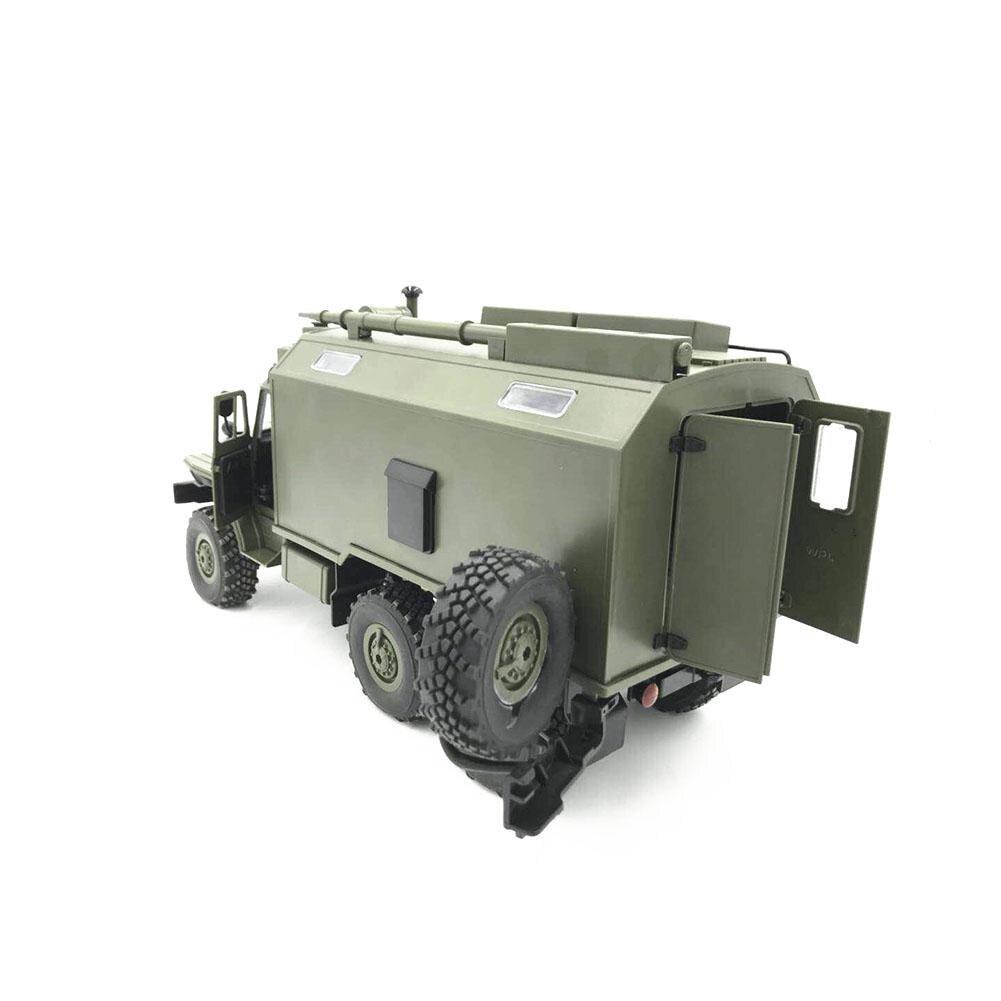 WPL modèle B36 RC camion voiture sur chenilles Mini tout-terrain télécommande 1:1 contrôle Ural véhicule militaire escalade adulte jouet bricolage RTR Carro Eletrico - 6