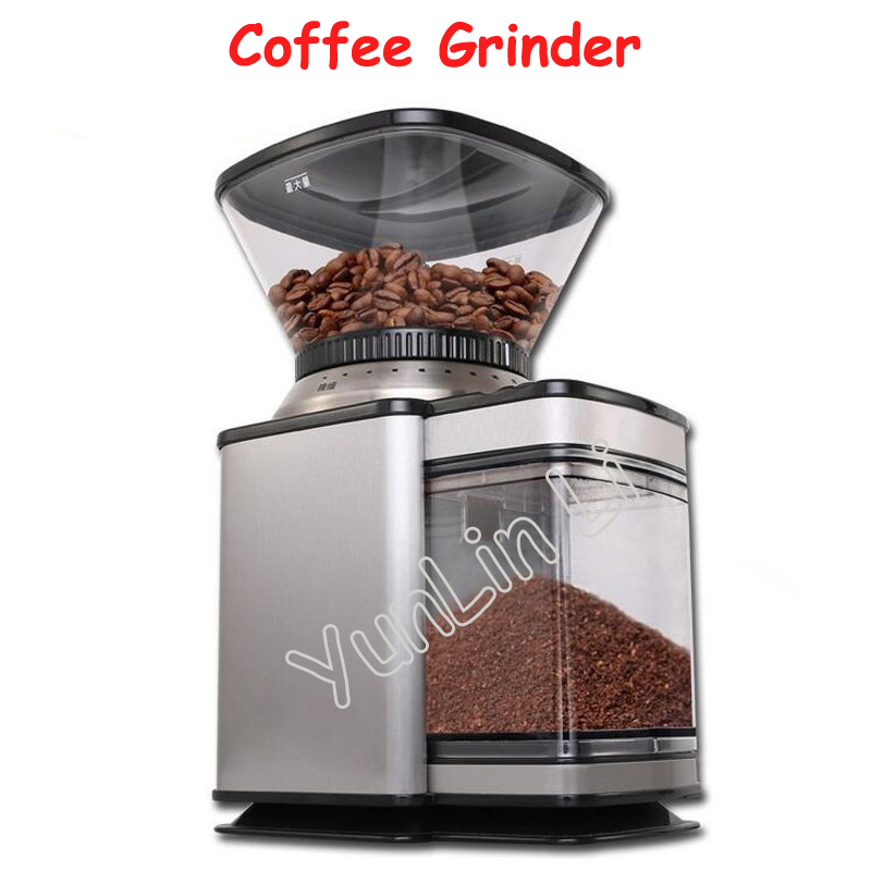 Electric Coffee Grinder 350g Automatic Coffee Bean Milling Machine