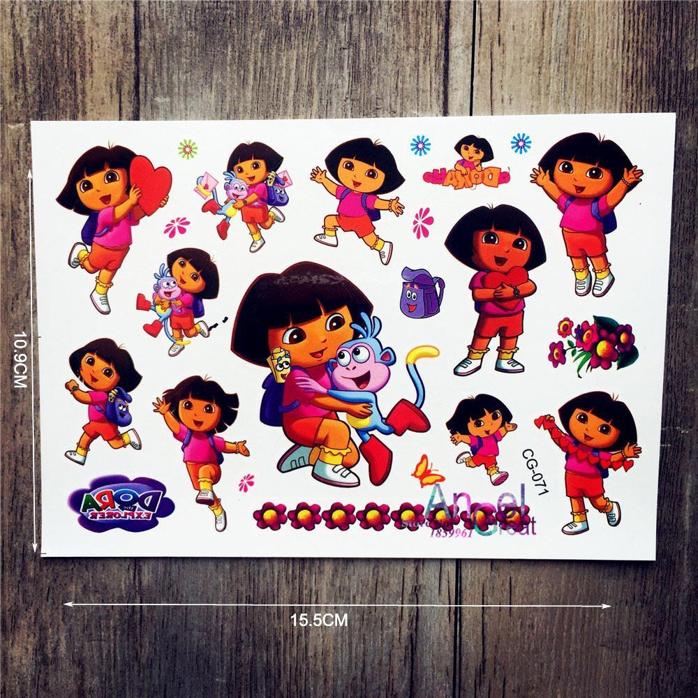 детские татуировки для девочек картинки