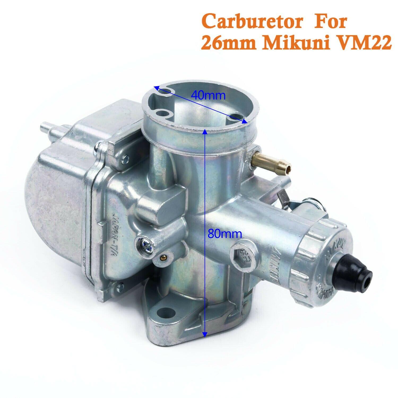 Mikuni VM22/26/mm carburador 125/cc 140/cc para quad ATV Dirt Pit Lifan YX Zongshen Pit Dirt Bike XR50/CRF70/KLX hk-127/AB
