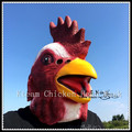 Top Quality Halloween Party Cosplay Latex Rubber Cock Mask Adult Animal Party Masquerade Rooster Masks Chicken Head Mask Toys