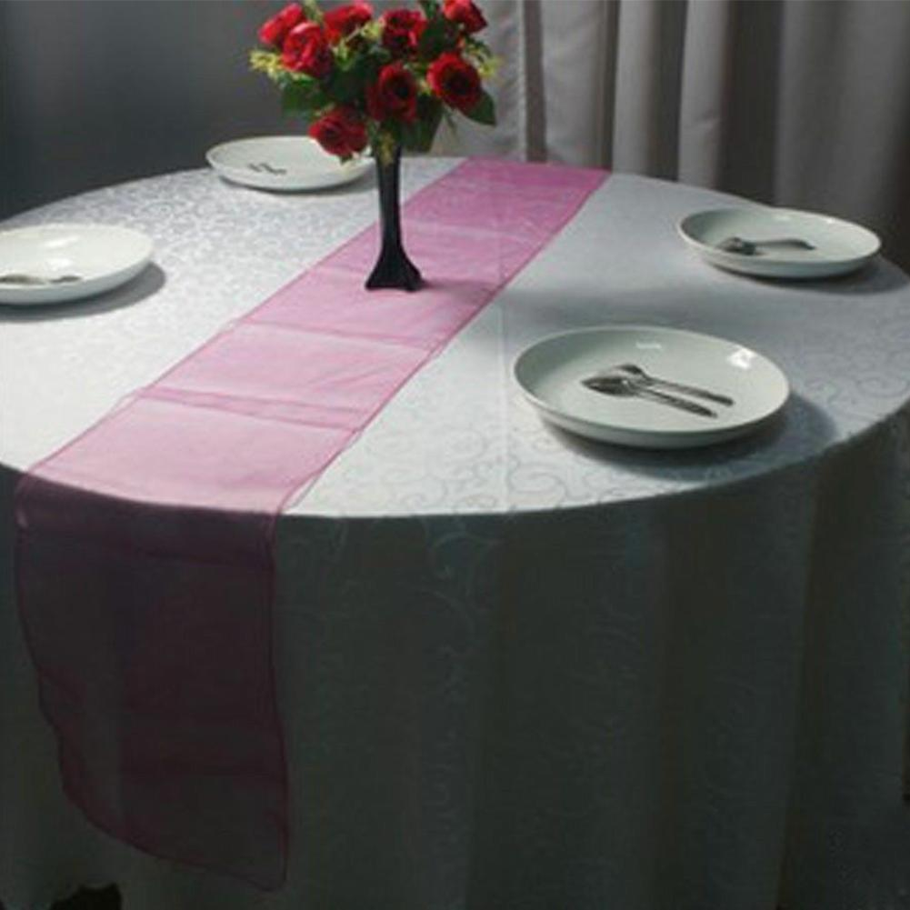 Tulle Fabric Wedding Decorations Online Get Cheap Wedding Decorations Table Runners Aliexpresscom