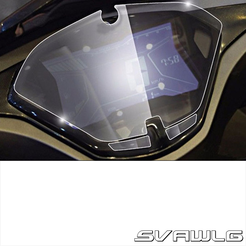 US $3 49 10% OFF for Yamaha NVX 155 Aerox 155 Speedometer Speedo Screen  Cluster Scratch Protection Film Instrument Dashboard Shield-in Covers &