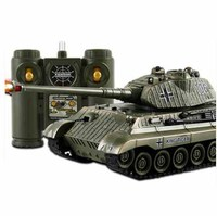 RC Battle Tank Fun Remote Control Shooting Tank large scale Radio Control Army Battle Model Millitary RC tanks Toy