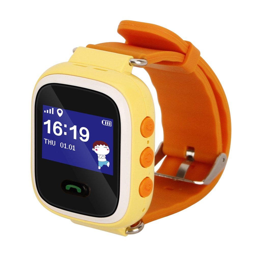 Q60 GPRS Phone Positioning Fashion Children Watch 1 inch Color Touch Screen SOS Baby Safe Smart Watch 1 22 inch mi q90 gprs location phone fashion positioning children watch wifi sos smart watch baby q80 q50 q60 find smartwatches