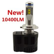 P6 Canbus 10400Lm LED Car Headlight Fog Light Conversion Kit H4 H7 H11 9005 9006 H13 D1 D2 D3 H15 Repl. Halogen HID Xenon Lamp