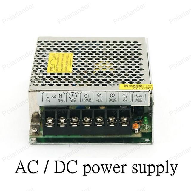Mejor Precio AC/DC 12 V 30 W de salida dual de la fuente de alimentación de Tensión para el Transformador Controlador del Adaptador de fuente de Alimentación del Interruptor para La Luz LED tira