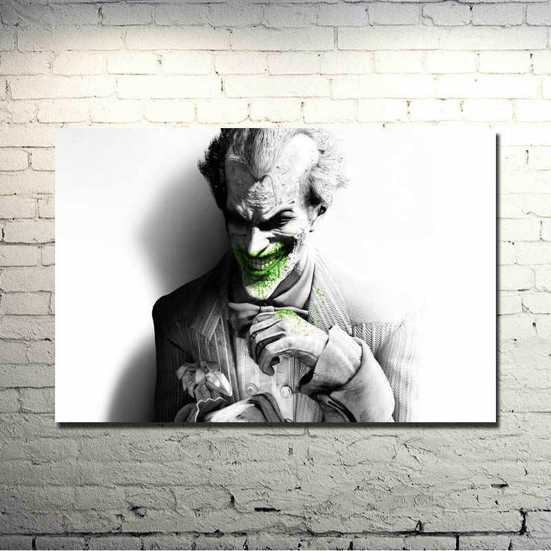 Batman Arkham Origins Joker Game Art Wall Silk Poster Pictures 24x36 inches