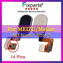 Meizu M3 Note Button Fingerprint Flex Cable Ribbon Replacement Parts L681H Home Identification Sensor