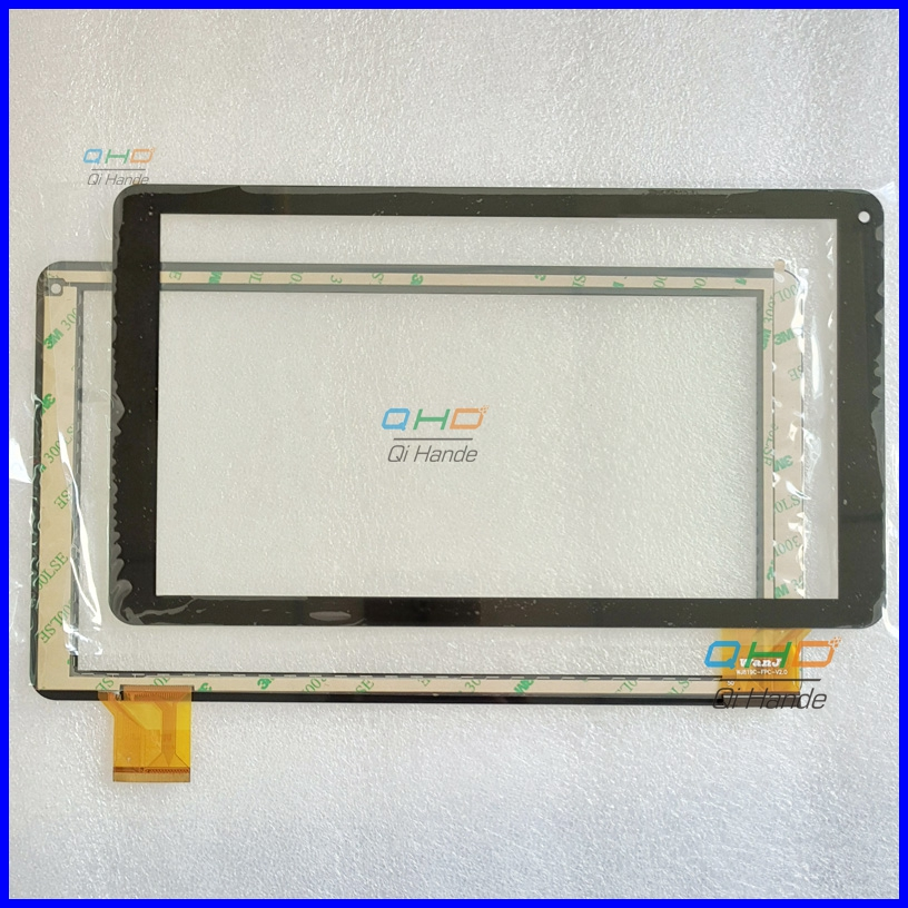 New 10.1'' inch Tablet Capacitive Touch Screen Replacement For WJ819C-FPC-V1.0 Digitizer External screen Sensor Free Shipping new 10 1 tablet pc for 7214h70262 b0 authentic touch screen handwriting screen multi point capacitive screen external screen