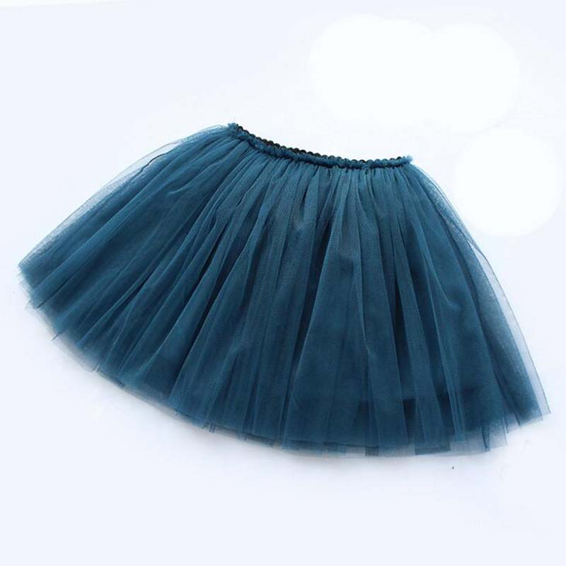 girls skirts princess lovely tutu skirts for 1-12Years kids spring summer clothes 11 color short girls lace skirts dance clothes 2